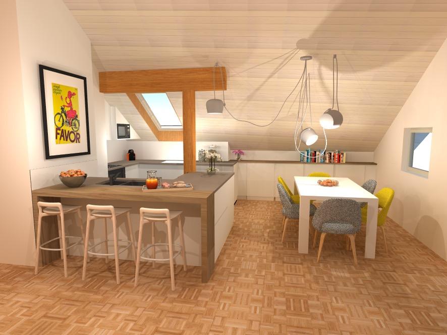 Rénovation Cuisine 3D
