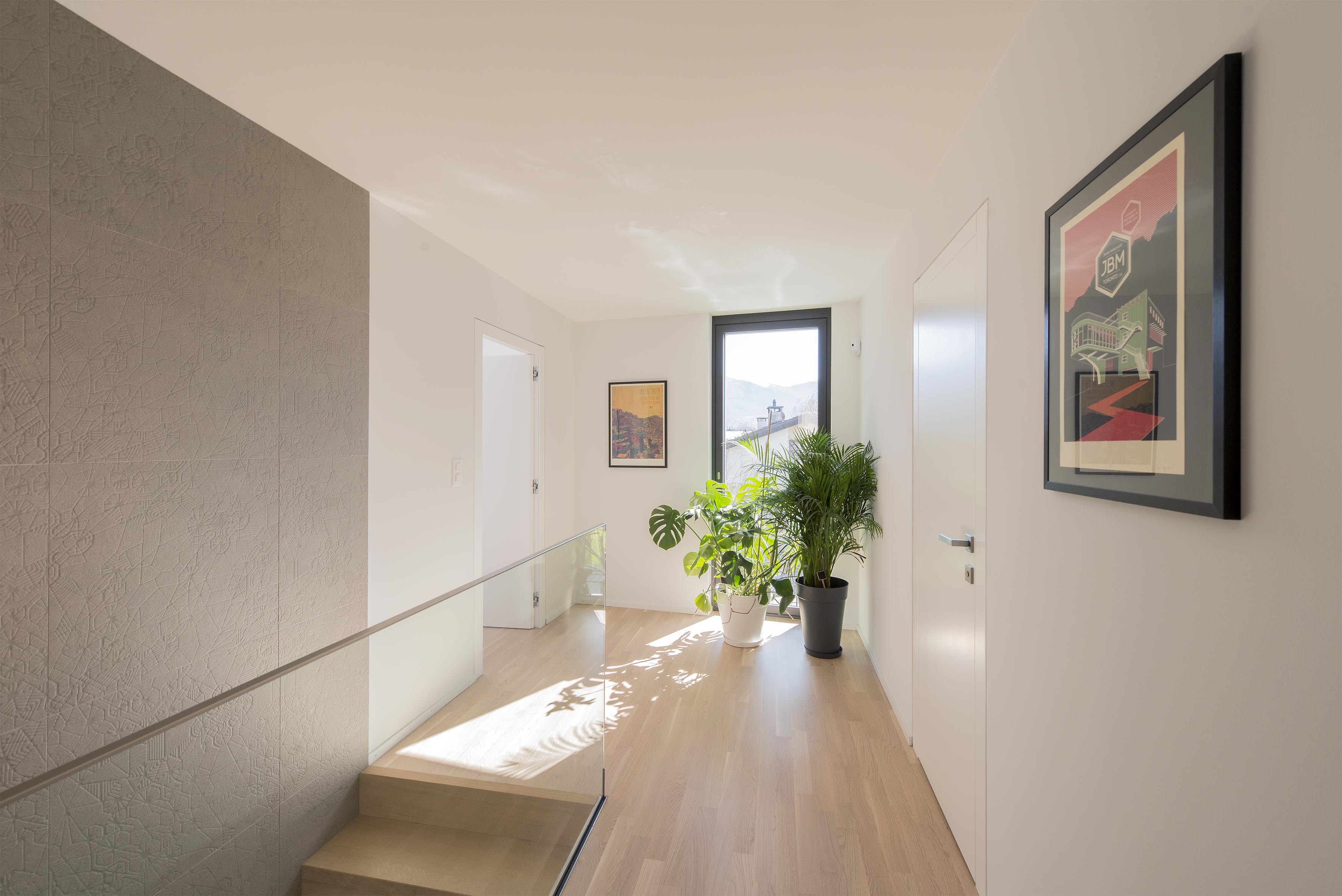 Villa E - Couloir de l'étage