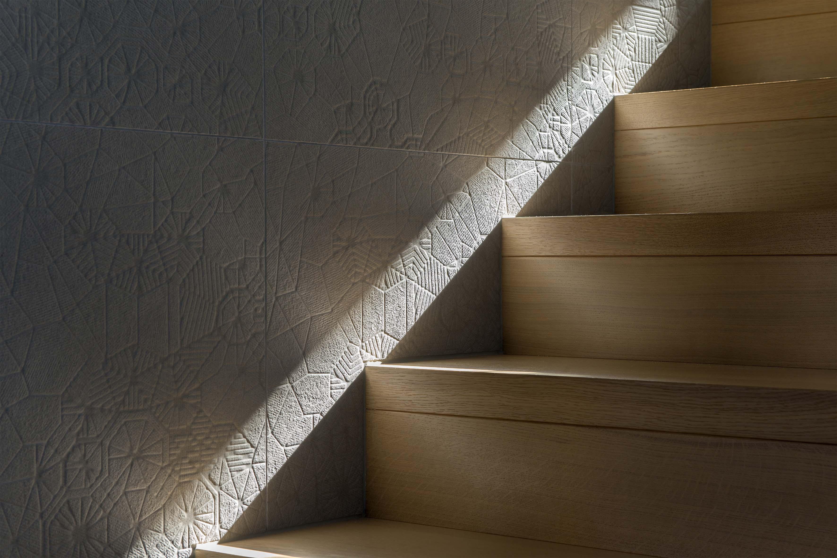 Villa E - Détail escalier