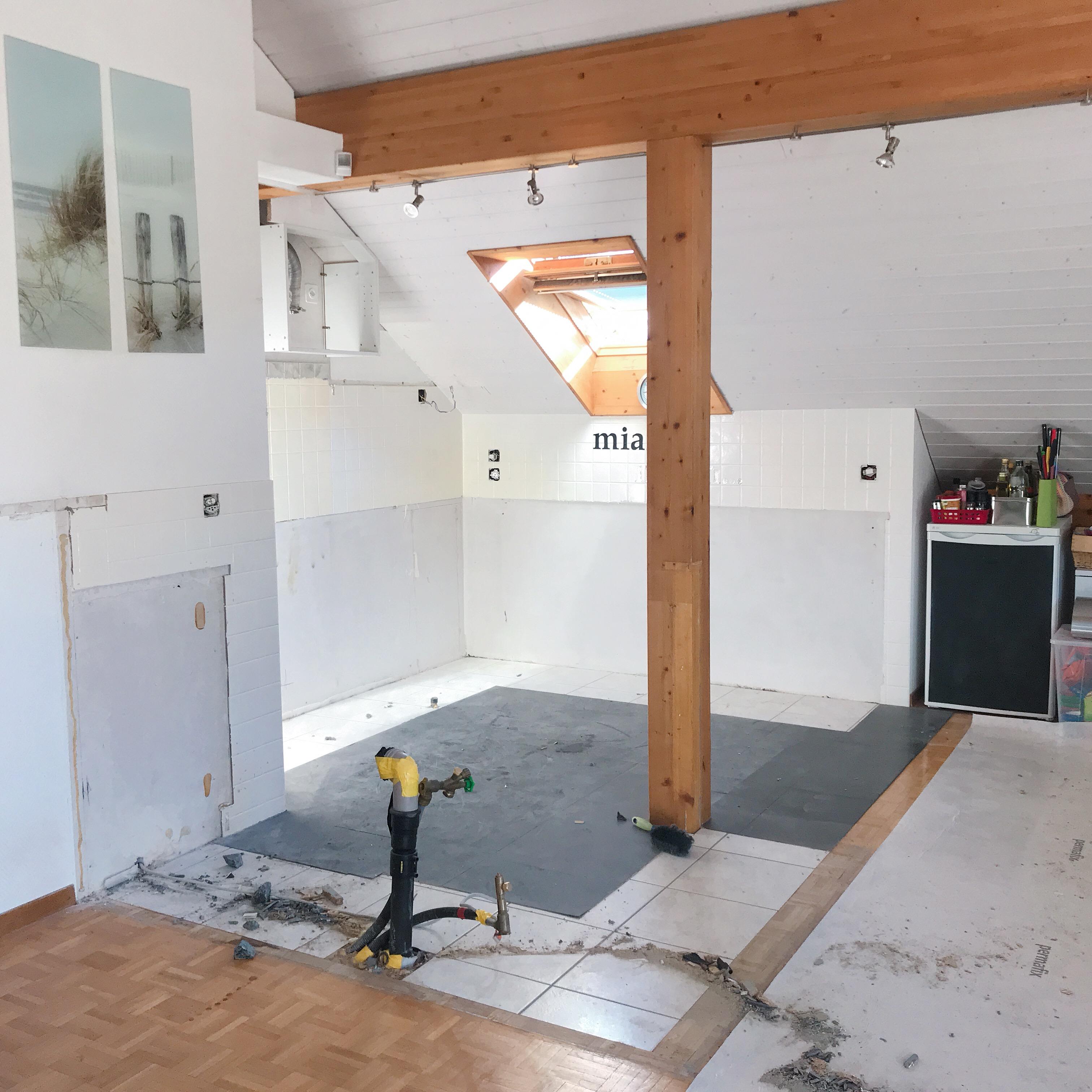 Rénovation en cours